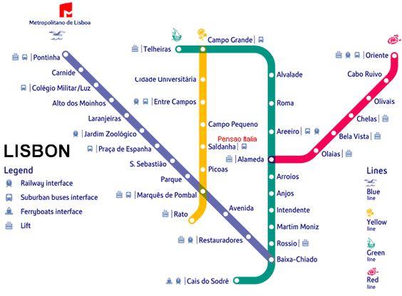 Subway Map Lisbon Pdf.Lisbon Metro Map Pdf