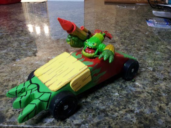 Skylanders Pinewood Derby Car