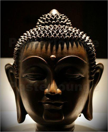 buddha braun: Poster & Kunstdruck von ANOWI