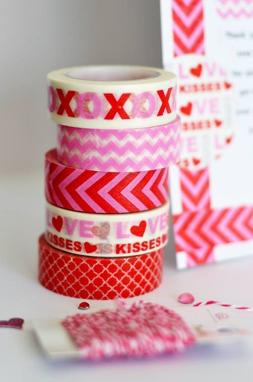 Queen & Co. new Valentine's Washi Tape