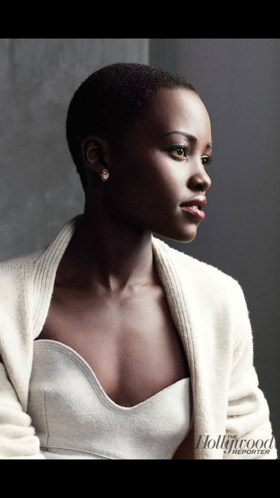 Lupita Nyong'o. Twelve Years of Slave movie. Her and I share the same name!! Rare thing