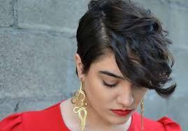 cortes de cabelo curto para gordas estilo moicano