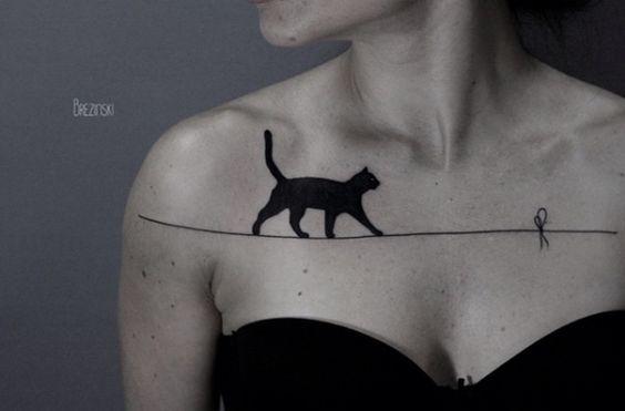 Cat on Tightrope by Ilya Brezinski: