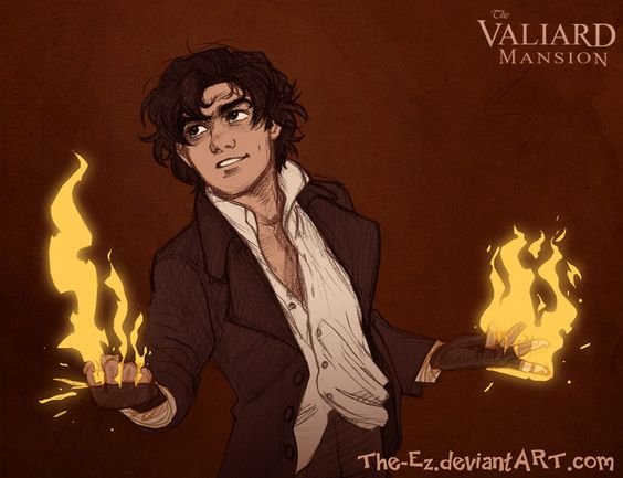 Teen Theodore Roughs - August 2013 by The-Ez on deviantART. Pepper, except, you know, without the fire. :)