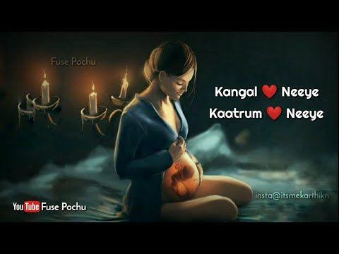 Kangal Neeye Mother S Love Whatsapp Status Tamil Fuse Pochu Lyrics Youtube Mothers Love Tamil Video Songs