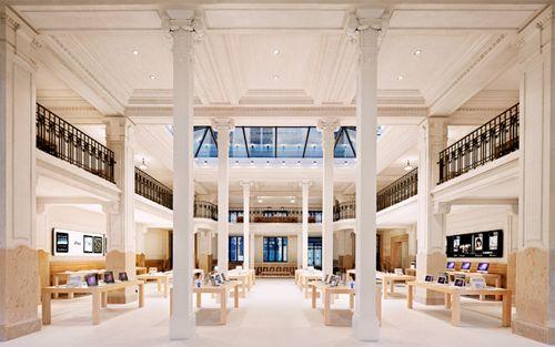 Apple Store Paris.