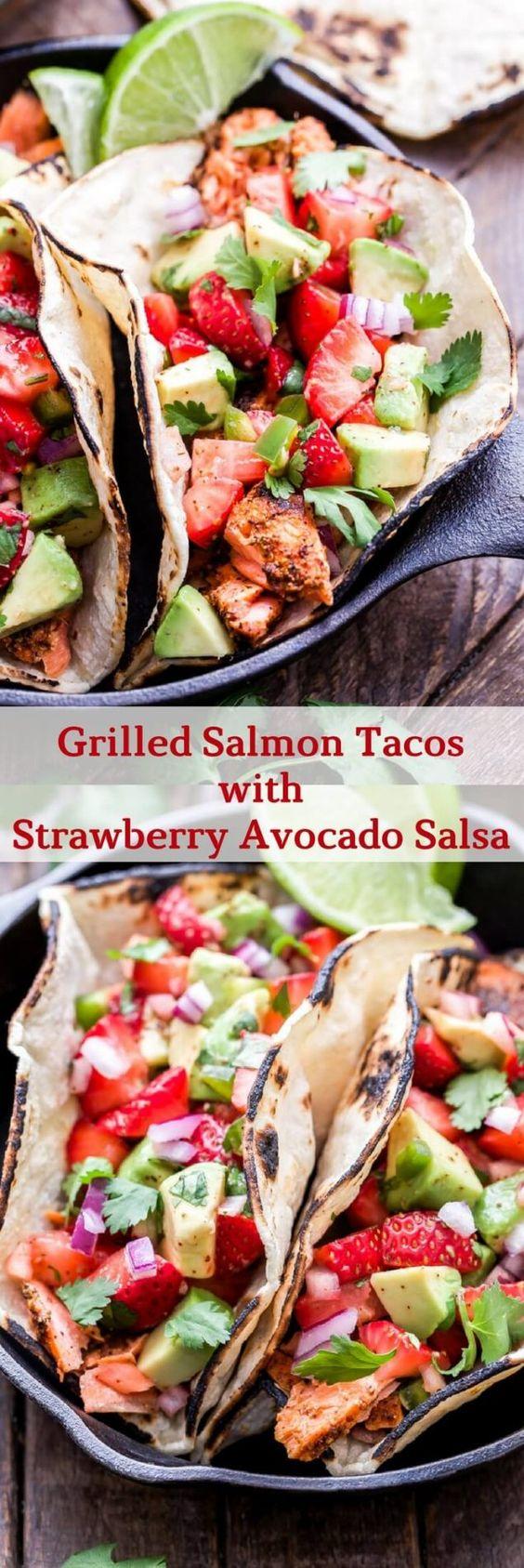 easy taco recipes with salsa