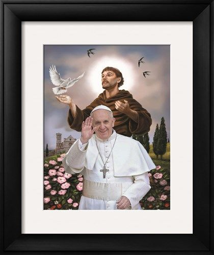 love this photo of Pope Francis