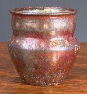 [Iridescent Pottery by Paul J. Katrich, 0645]