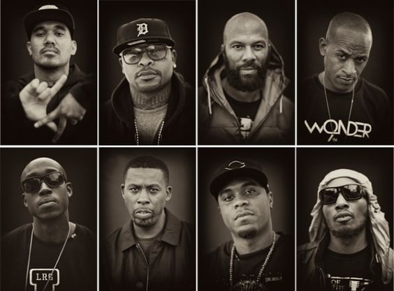 Hip Hop Portraits by Trevor Traynor