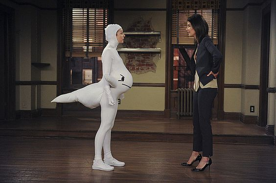 Robin How I Met Your Mother Pregnant
