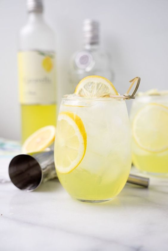 Limoncello Vodka Cooler. Sweet Limoncello, a hit of vodka and lots of ice make this the perfect summer cooler for those hot summer days and nights. [social_share/] Yum YAY!! Its the weekend! We're suppose to have rain all weekend but the weather man seems to be wrong ALOT lately!! So fingers crossed he is this...Read More »
