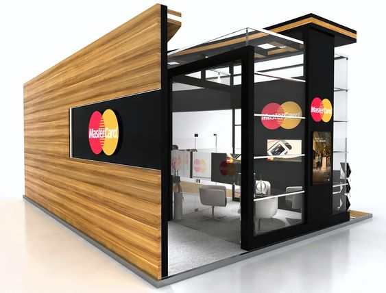 Mastercard Exhibit Design On Behance Exhibition Design Design