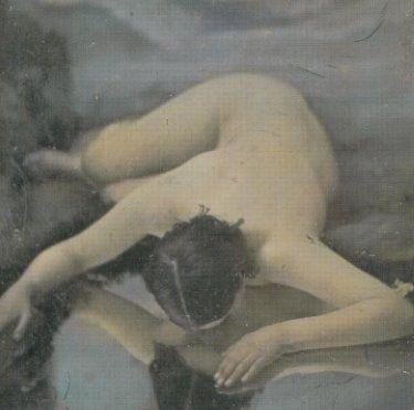 23silence:    Felix Jacques-Antoine Moulin (1802-1875) - Femme penchée sur un miroir,1851-1855