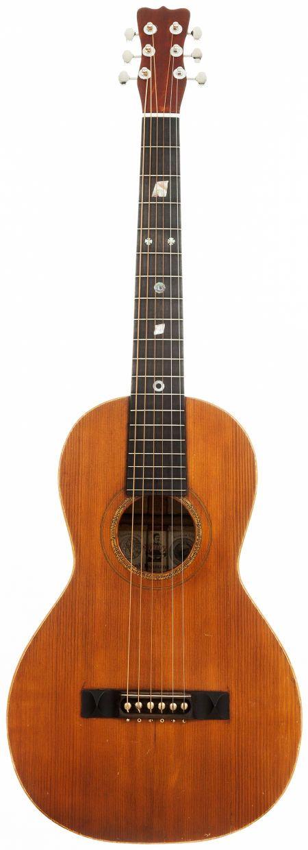 1898 bohmann natural parlor acoustic guitar serial. Black Bedroom Furniture Sets. Home Design Ideas