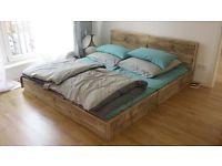 Design Bett aus Bauholz 180 x 200 Massiv-Holz, Weich-Holz Landaus Berlin - Kreuzberg Vorschau