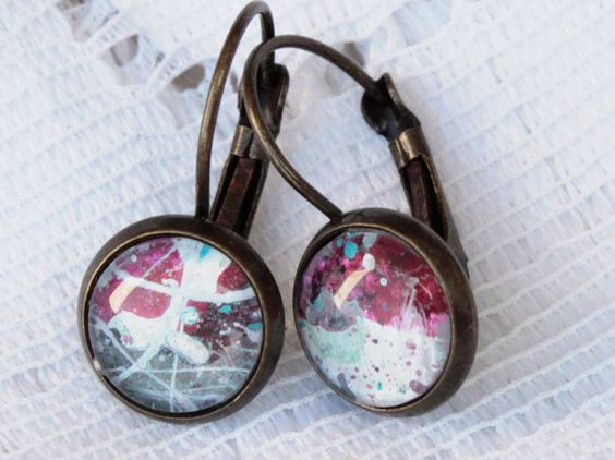 Space Art Earrings brisur earring
