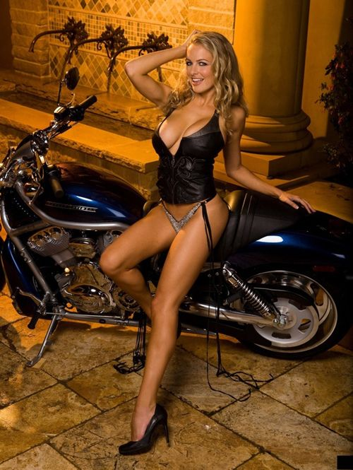 Naked biker babes