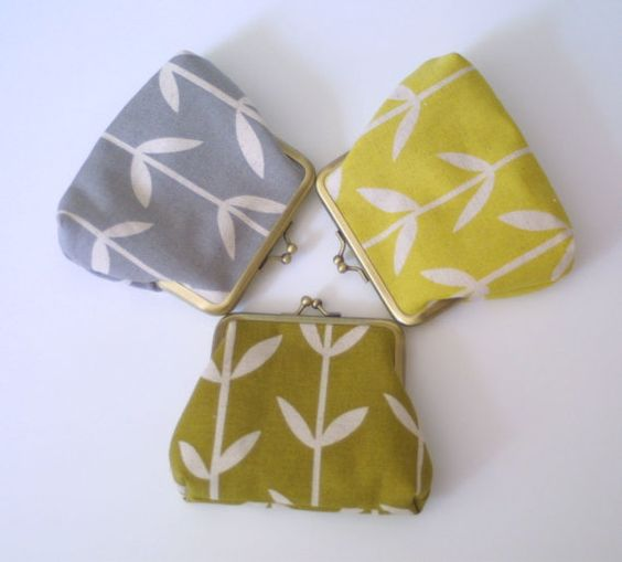 Solid Orla snap purses by Thirtyfive Flowers, on Etsy.
