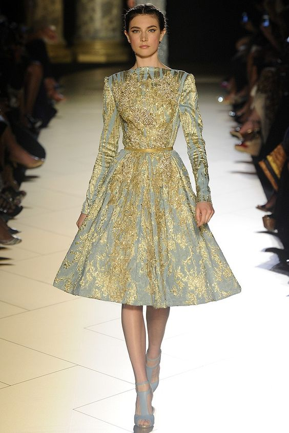 Elie Saab Fall Couture 2012-yes please!