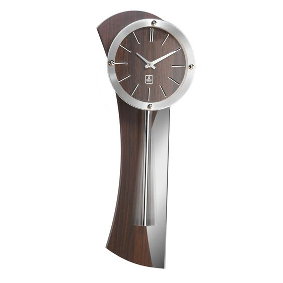 Amazon Com Cupecoy Design Wooden Pendulum Wall Clock