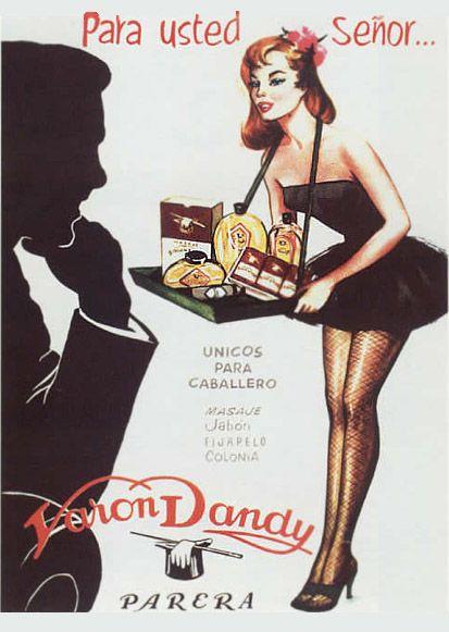 Resultado de imagen de publicidad machista años 50