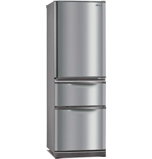 Mitsubishi 405 Litre Multi Drawer Fridge Freezer Fridge Freezers Mitsubishi Fridge Refrigerator