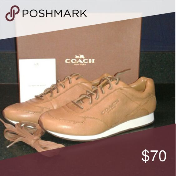 **ONE HOUR SALE**Raeann Soft Vintage Coach Shoes Soft Vintage Lthr Coach Shoes Sneakers