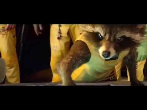 Guardians Of The Galaxy Nothing Goes Over My Head Scene Guardians Of The Galaxy Scene Guardian