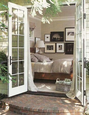 nearly outdoor bedroom