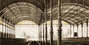 Station Holland Spoor
