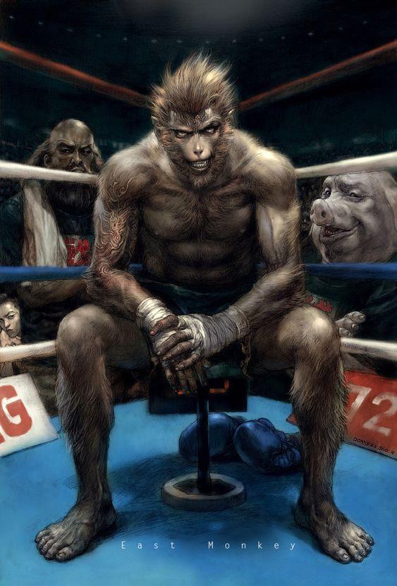 K-boxing by EastMonkey.deviantart.com on @deviantART