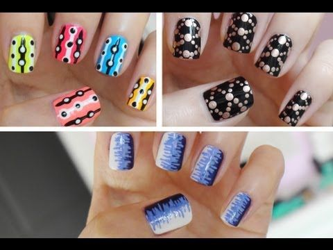 28 Best Images About Nail Art On Pinterest Nail Art Rainbow Nails