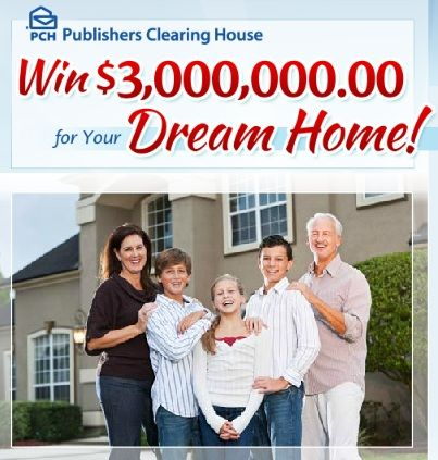 Who wouldn't want to win a $3,000,000 dream home?!