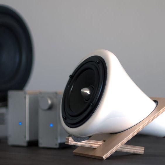 Ceramic Speaker System | Huckberry