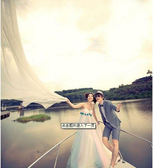 I like the wedding dress