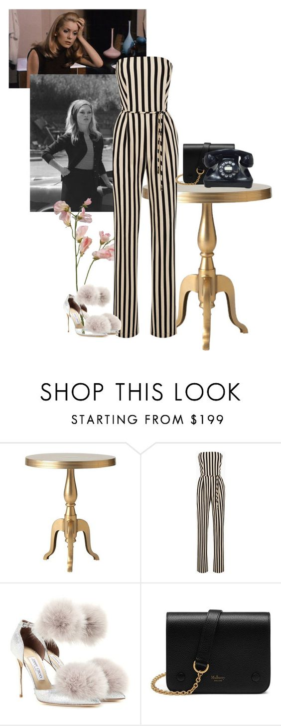 """""""YSL"""" by marlborolight on Polyvore featuring moda, Home Decorators Collection, Bardot, Jimmy Choo y Mulberry"""