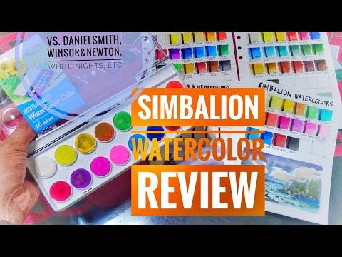 Simbalion Watercolor Vs Artist Grade And Student Grade Paints