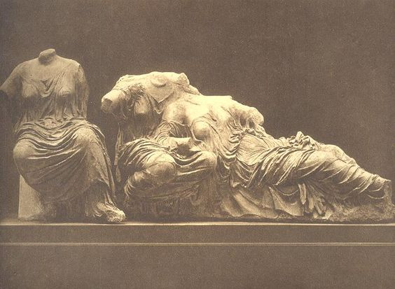 The Three Fates Pediment Of The Parthenon Art Sculptures - Artist uses banned books to create monumental sculpture against political oppression