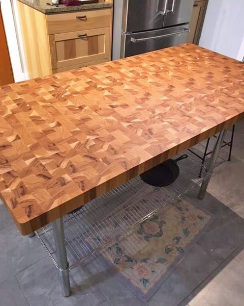 Pin On Butcher Block Countertops Wood Countertops