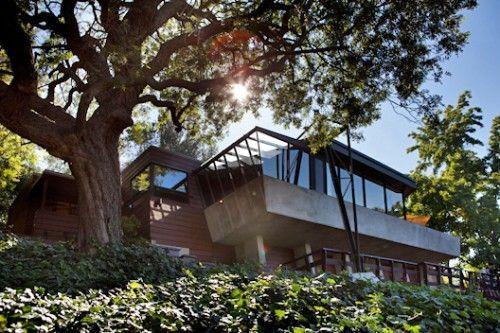 Jacobsen House, Cahuenga Pass  John Lautner