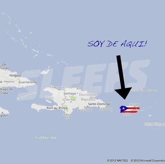 Puerto Rico:  Soy de AQUI!!