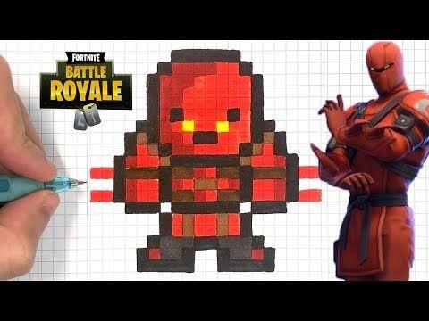 Chadessin Pixel Art Fortnite Youtube Pixel Art Pixel Art Design Pixel