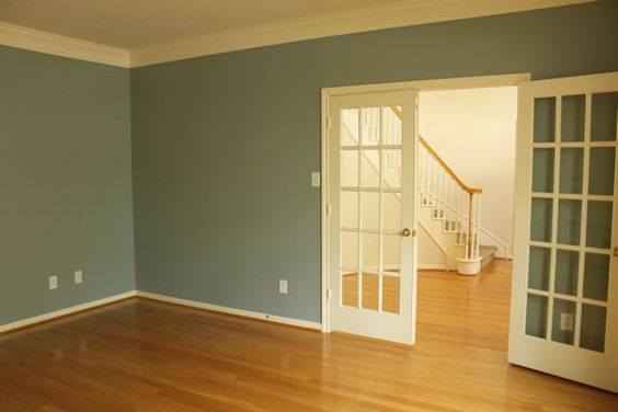 Warm blue wall colors and colors on pinterest for What wall colors mean