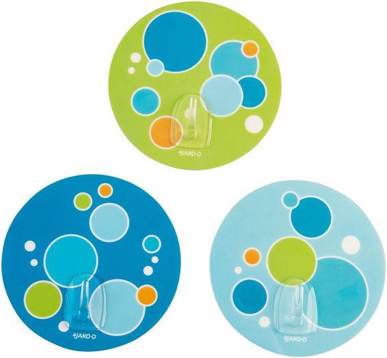 Wandhaken selbstklebend 3 Stück JAKO-O online bestellen - JAKO-O