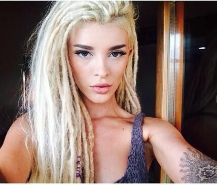 Blonde Dreads Beauty Pinterest Girls Ps Und Blonde
