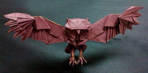 Paper craft - Owl- Orgami?