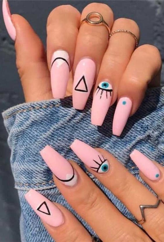 9 Halloween Themed False Nails You Can Buy For Cheap In 2020 Nail Designs Gel Nails Short Acrylic Nails