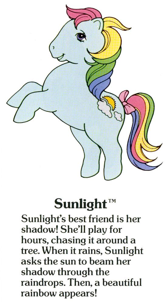 Sunlight My Little Pony Coloring Old My Little Pony My Little
