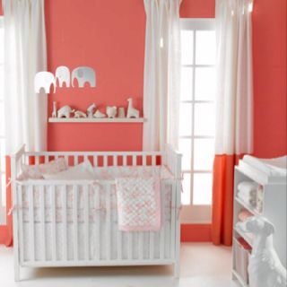 Coral & White this is just precious